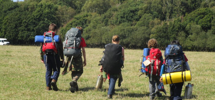 Scouts Enjoy Bushcraft Award Camp